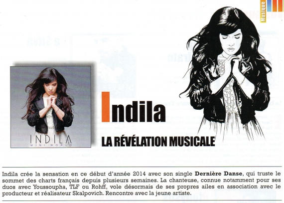 indila, mini world, interview, le magazine des espcaces culturels leclerc, Mandor