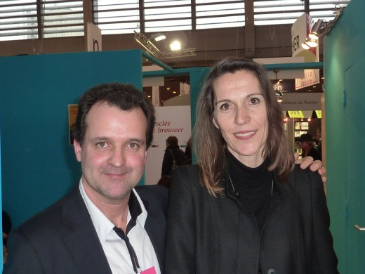 salon du livre de paris 2011,stand laura mare,photos