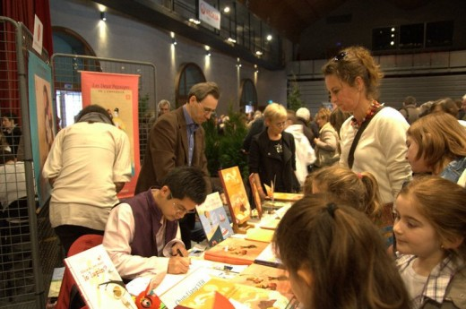 salon du livre de provins,2011,photos
