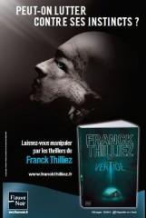 franck thilliez,vertige,interview,addiction