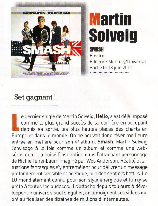 martin solweig, smash, interview